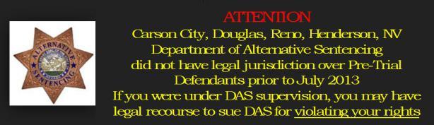 department of alternative sentencing